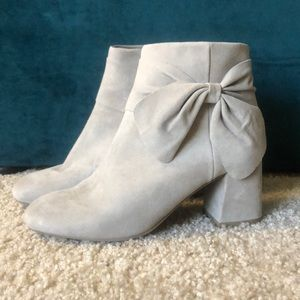 Seychelles Suede Ankle Booties